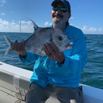 Gary with African Pompano
